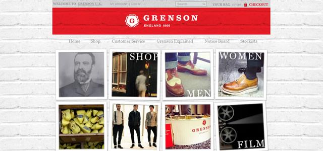 Grenson. Les couleurs de votre site