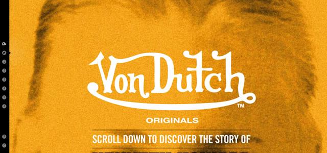 Von Dutch. Les couleurs de votre site