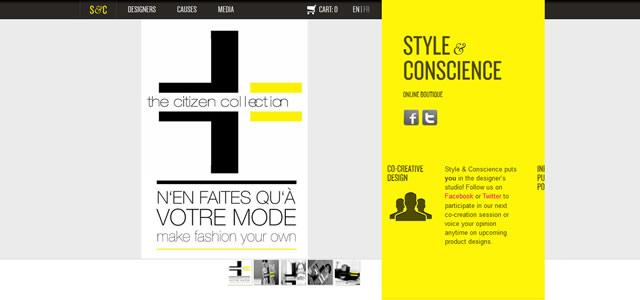 Style and Conscience. Les couleurs de votre site