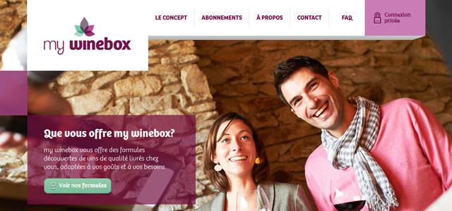 mywinebox. Les couleurs de votre site
