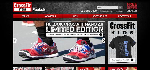 shopcrossfitreebok. Les couleurs de votre site