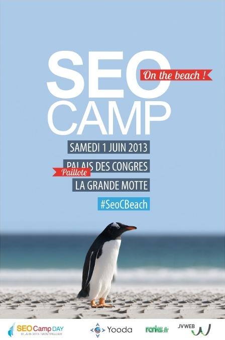 Affiche SEO Camp