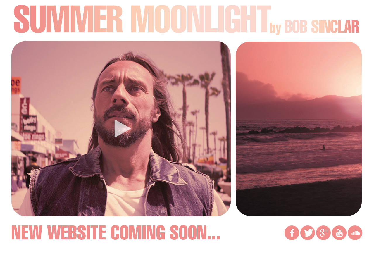 Le site officiel de Bob Sinclar en WordPress