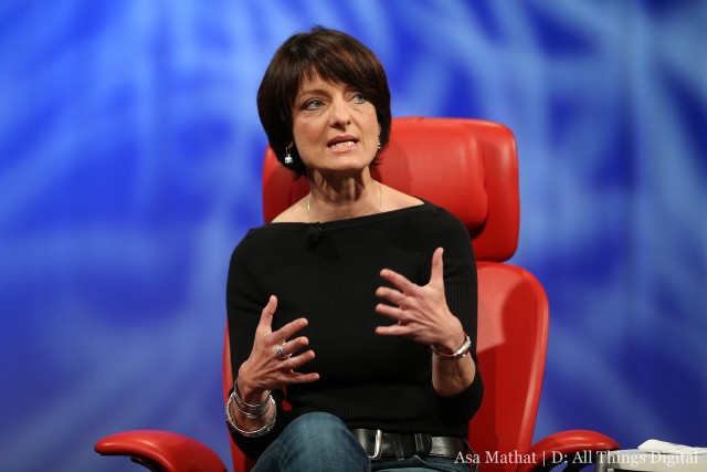 Regina Dugan. Interview par le site AllThingsD - Photo - AllThingsD