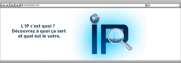 L'IP c'est quoi