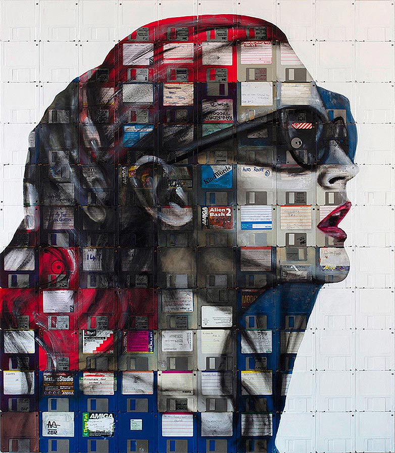 Technologie obsolète transformé en art (1)