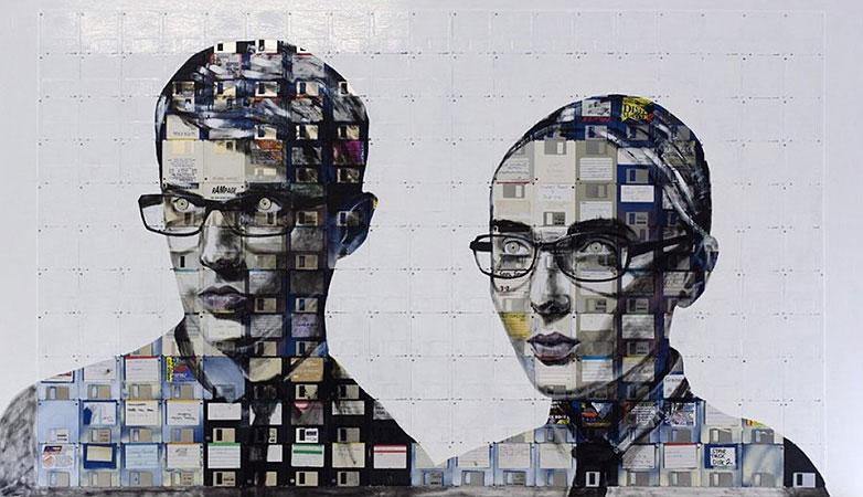 Technologie obsolète transformé en art (10)