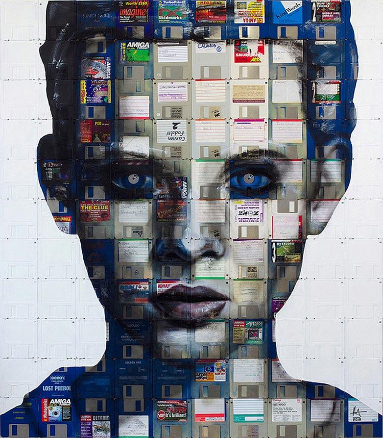 Technologie obsolète transformé en art (2)