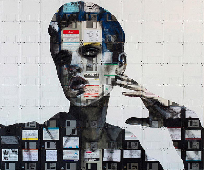Technologie obsolète transformé en art (3)