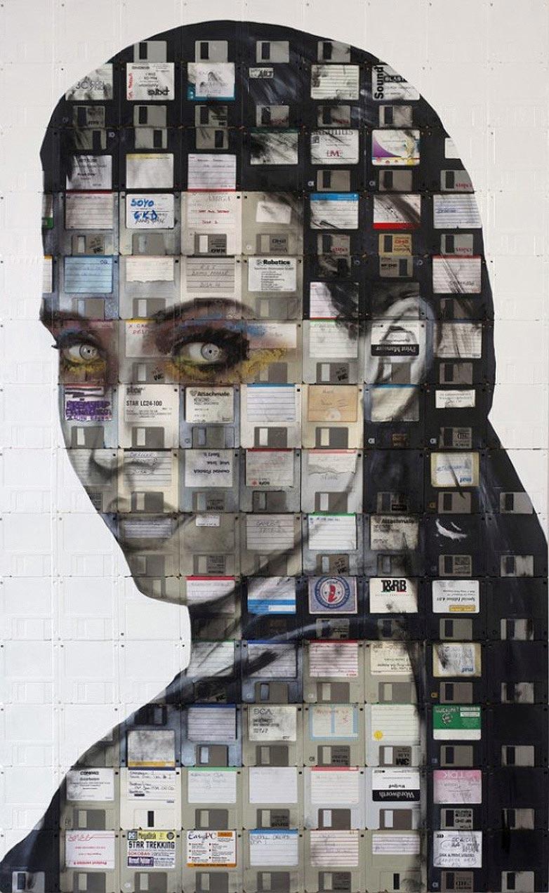 Technologie obsolète transformé en art (5)