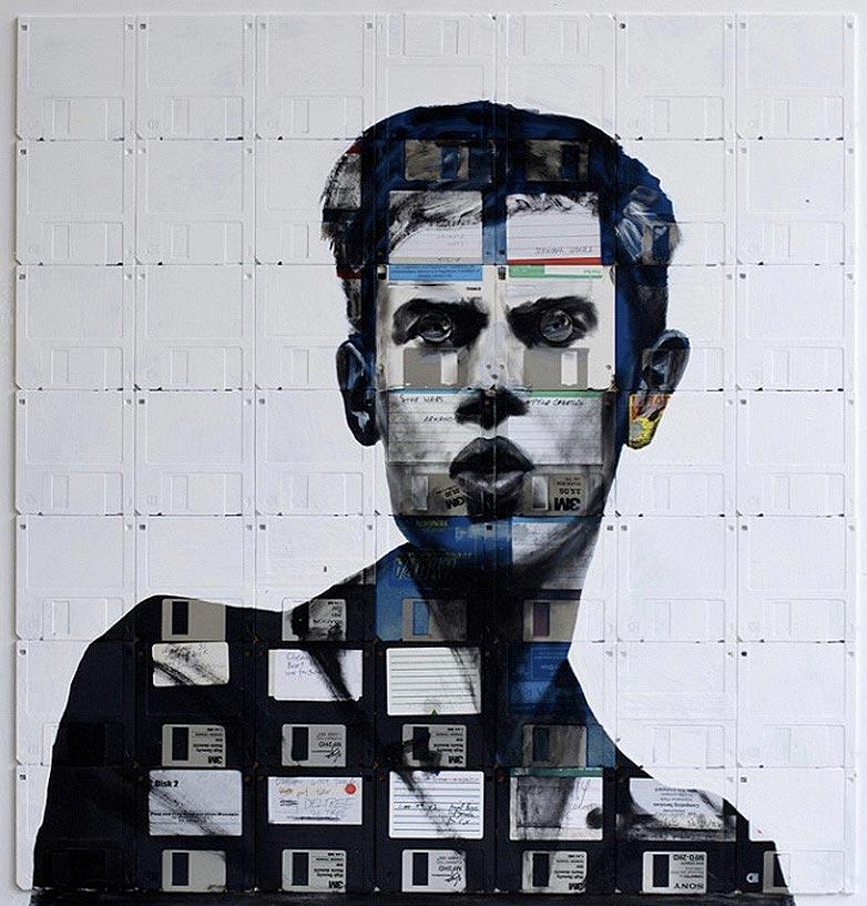 Technologie obsolète transformé en art (7)