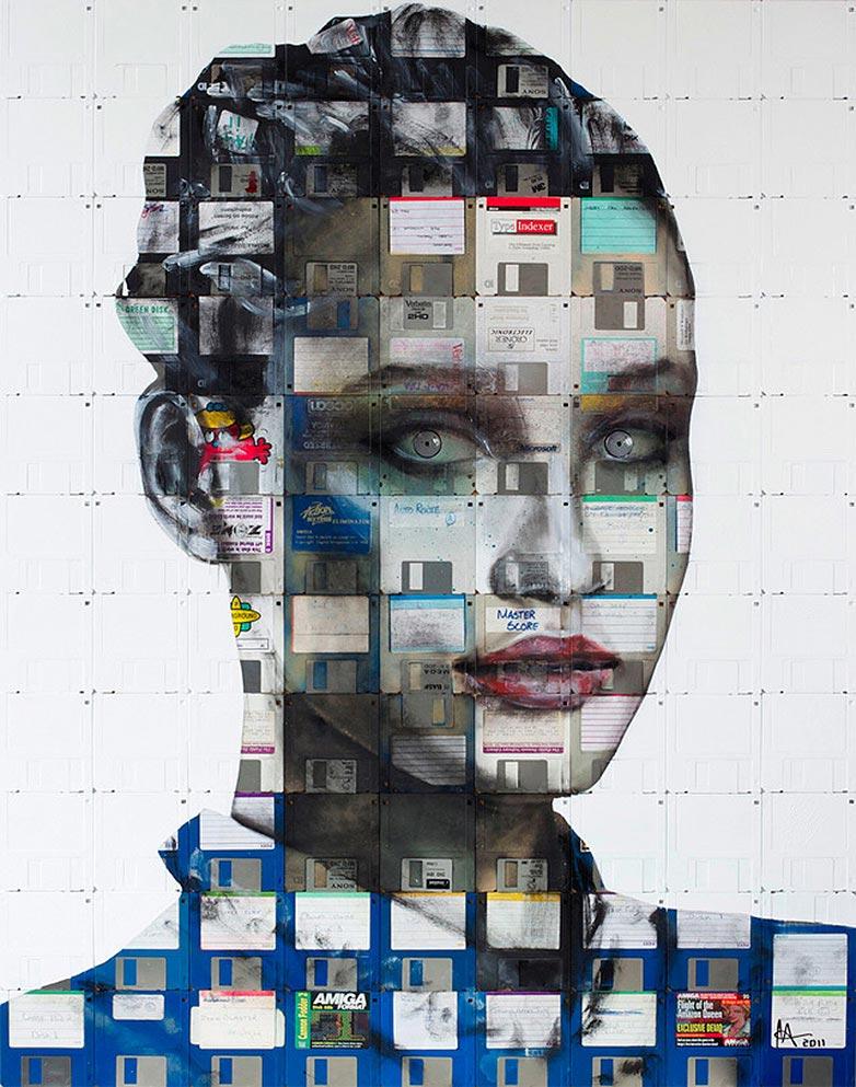 Technologie obsolète transformé en art