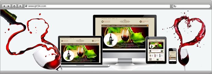 Thème wordpress pour professionnels du vin