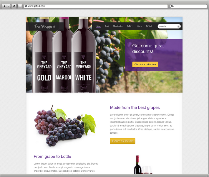Theme vineyard