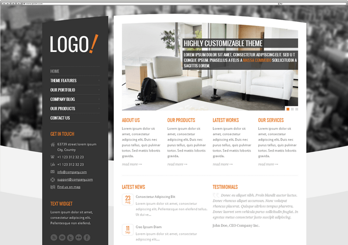 Meilleur Theme WordPress RT-Theme 15