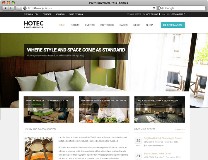 cr ation de site web montpellier ipt34 th mes ForSite Web Pour Hotel