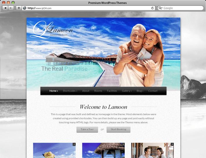 Thème WordPress Lamoon