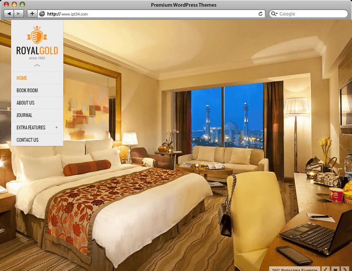 cr ation de site web montpellier ipt34 th mes wordpress pour h tel g te chambre d h te. Black Bedroom Furniture Sets. Home Design Ideas