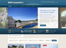 Création de site immobilier